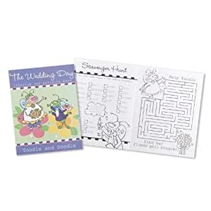 The Toodle and Doodle Wedding Day Coloring and Activity Book