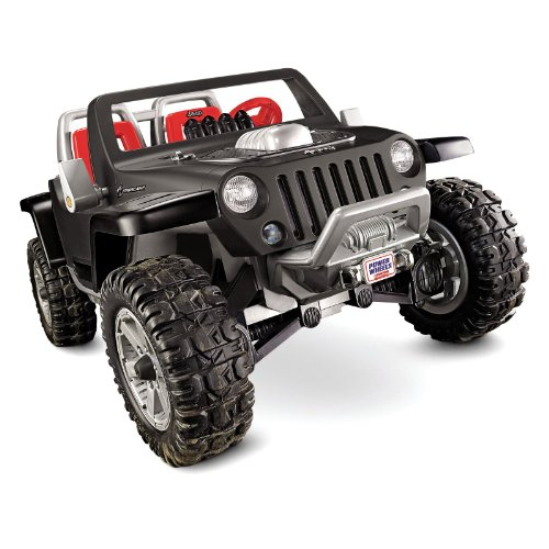 Fisher-Price Power Wheels Battery Operated Jeep Hurricane Riding Toy