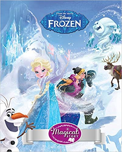 Upto 40% off On Disney Books By Amazon | Disney Frozen Magical Story (Magical Story With Lenticular) @ Rs.200