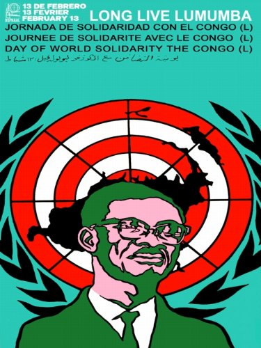 18x24-Political-PosterSolidarity-with-the-CongoAfrica-Anti-Apartheid-Text-in-Spanish-English-French-and-ArabicHistory-MaterialSmart-DecorPatrice-Lumumba