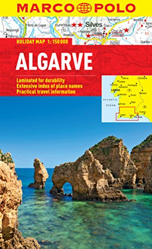 Algarve Marco Polo Holiday Map (Marco Polo Holiday Maps)