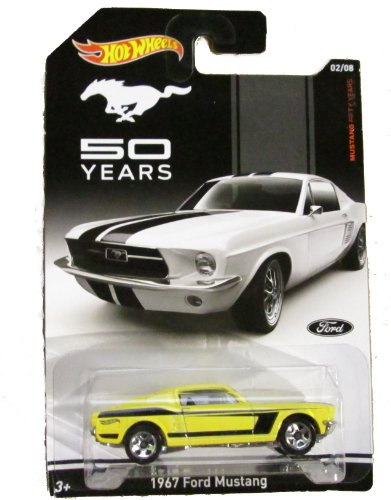 Hot Wheels - Mustang Fifty Years - 02/08 - 1967 Ford Mustang