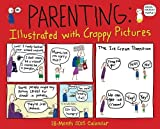By Amber Dusick Parenting: Illustrated With Crappy Pictures 2015 Wall Calendar (Wal) [Calendar]