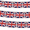Union Jack Flag Bunting 12ft with 11Flags