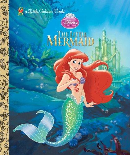 The Little Mermaid (Disney Princess) (Little Golden Book) - Michael Teitelbaum