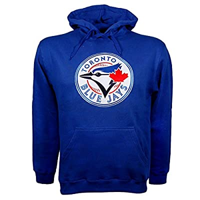 Toronto Blue Jays Twill Logo Hoody (Royal)
