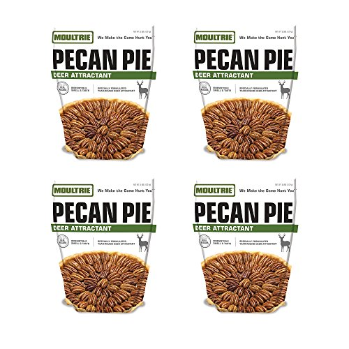 Moultrie Pecan Pie Game Feeder Powder Mix, 4 Pack (Pie Powder compare prices)