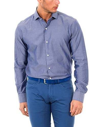 McGregor Camisa Hombre Tesla Bruce 4 Tf Ls Azul