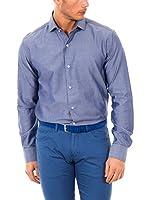 McGregor Camisa Hombre Tesla Bruce 4 Tf Ls (Azul)