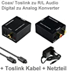 Audio Konverter Wandler Digital (Tosl...