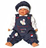 Baby Bekleidungsset BunnyBu 3107mar 3-teilig Strampler-Set 100% Baumwolle