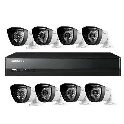 Samsung SDS-P5082 16 Channel DVR Security System (White)
