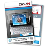 FoliX FX CLEAR screen protector for Sony Ericsson Xperia X10 mini pro / X 10 minipro   Ultra clear screen protection! handhelds pdas 