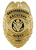 Repossession Recovery Agent Badge Item #M212 Wallet Clip
