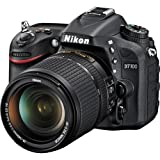 D7100 24 Megapixel Digital SLR Camera with 18-140mm VR Lens Kit - Black