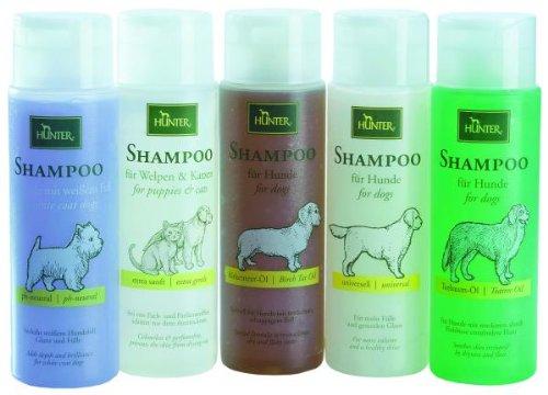 HUNTER Hundeshampoo - weißes Fell HUNTER Hundeshampoo - 250 ml - weißes Fell