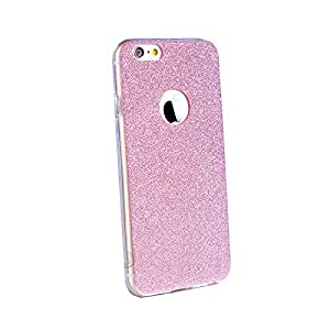 Novo Style Luxury Fashion Bling Sparkling Glitter Soft Back Cover Case For AppleiPhone 6- Pink