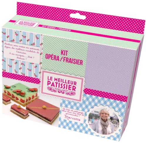 Le Meilleur Pâtissier 96017 MP Kit Opéra/Fraisier Inox/Silicone
