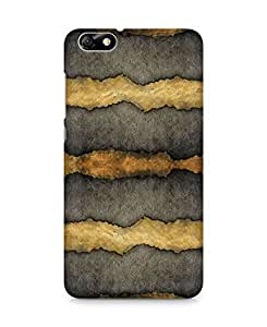 Amez designer printed 3d premium high quality back case cover for Huawei Honor 4X (Background Texture Brown)