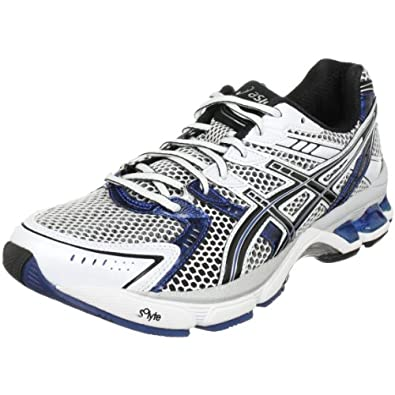 ASICS Men's GEL-3020 Running Shoe,White/Black/Royal,6.5 M US