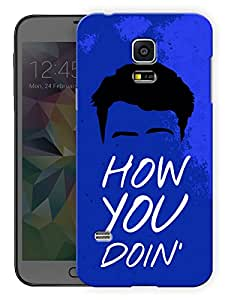 "Humor Gang How You Doin Friends Joey Printed Designer Mobile Back Cover For ""Samsung Galaxy S5 Mini"" (3D, Matte, Premium Quality Snap On Case)"