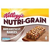 Kellogg's Nutri Grain Elevenses Chocolate Chip Bakes 6 x 45g Case of 6