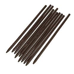 Phenovo 10pcs Women Handmade Wooden Hair Stick Pin Wood Vintage Hair Accessories