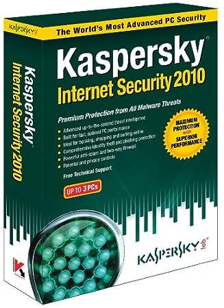 Kaspersky Internet Security 2010  3 User  (Fr/Eng software)