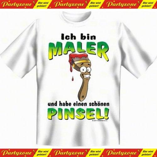 Lustige Witzige Coole Sprüche T-Shirt Handwerk Maler Motiv T-Shirts