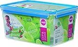 Emsa 'Gesunde Frische' (Healthy Freshness) 508548 Clip & Close Food Container Box 8.2 L Rectangular