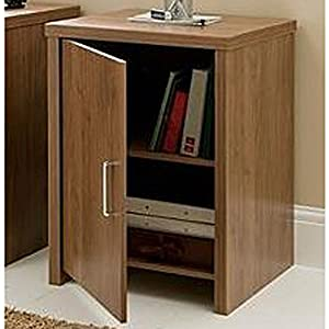 Pure Office Hideaway Storage Cupboard Walnut Kitchen Home