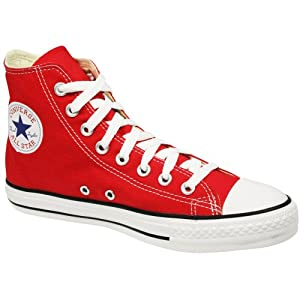 Converse Unisex High Top Sneakers Red M9621 6