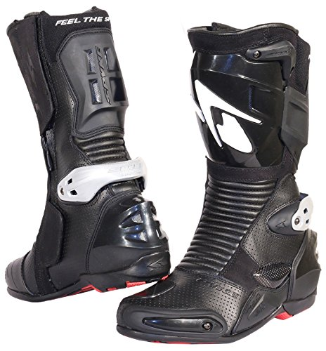 Spyke Totem 2.0 Mens Motorcycle Leather Boots