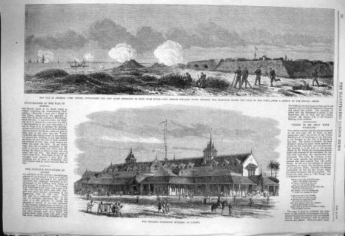 1864 War America Fort Fisher Cape Fear Punjaub Lahore