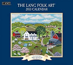 Folk Art 2013 Wall Calendar