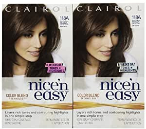 Clairol Nice N' Easy Hair Color, Natural Medium Neutral