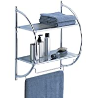 Neu Home 2-Tier Shelf with Towel Bars