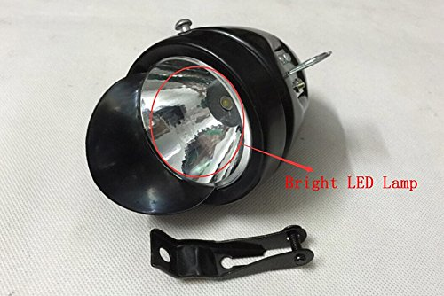 Goodkssop Classical Metal Black Vintage Bicycle Bike LED Light Headlight Front Retro Head Lamp 6