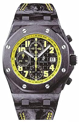 Audemars Piguet Royal Oak Offshore Bumble Bee Chronograph Mens Watch 26176FOOOD