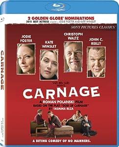 NEW Winslet/foster/reilly/waltz - Carnage (Blu-ray)
