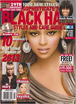 Sophisticate's Black Hair Styles and Care Guide Magazine ...