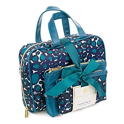 Best Cheap Deal for Adrienne Vittadini Women's Three Piece Cosmetic Bag Set from Tri-Coastal Design - Free 2 Day Shipping Available