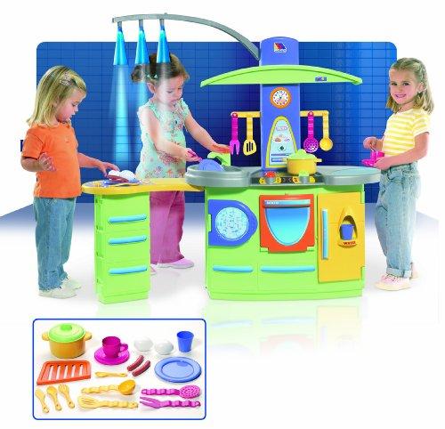 Molto - Cocina de juguete de tamaño grande con luz (7150) para en ...