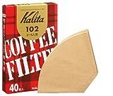 Kalita コーヒーフィルター 102ロシ みさらしタイプ 2~4人用 40枚入り 「10パックセット」