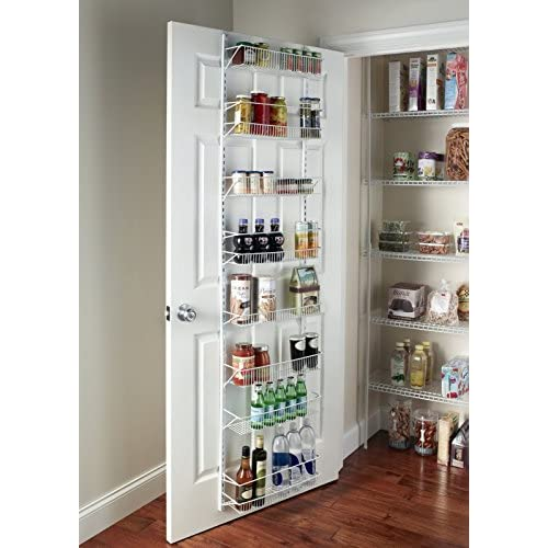Gracelove Over The Door Spice Rack Wall Mount Pantry Kitchen 8-Tier Cabinet Organizer