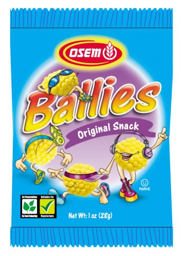 Buy Osem Ballies Snack Original, 1 -Ounce Packages (Pack of 48) (Osem, Health & Personal Care, Products, Food & Snacks, Snacks Cookies & Candy, Snack Food, Chips)