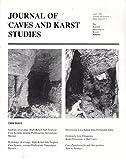 JOURNAL OF CAVE AND KARST STUDIES Vol. 58 No. 1, April 1996