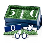 Indianapolis Colts Cufflinks, Moneyclip & Tie Bar Gift Set