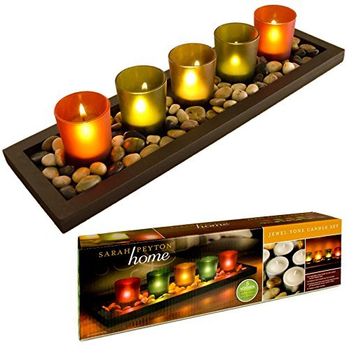 great-ideas-jewel-tone-tealight-candle-tray-with-glass-votives-and-decorative-pebbles