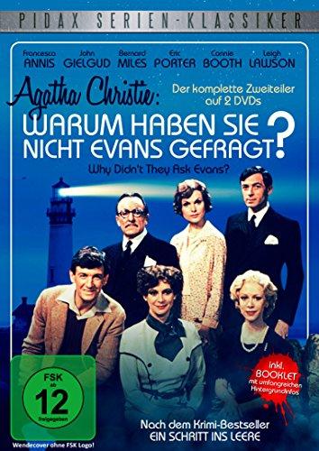 Agatha Christie: Warum haben sie nicht Evans gefragt? (Why Didn't They Ask Evans) - Der packende Krimi-Zweiteiler nach dem Roman Der Schritt ins Leere (Pidax Serien-Klassiker) [2 DVDs]